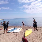 Paddlesurf / SUP Costablanca offers lessons to learn Stand Up Paddle Boarding lessons in Calpe, Benissa, Moraira and Denia!