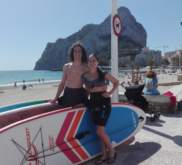 Paddle Surf Costa Blanca offer on GROUPON