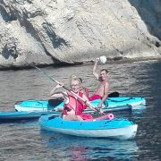 Double kayak rental in Calpe on the Costa Blanca