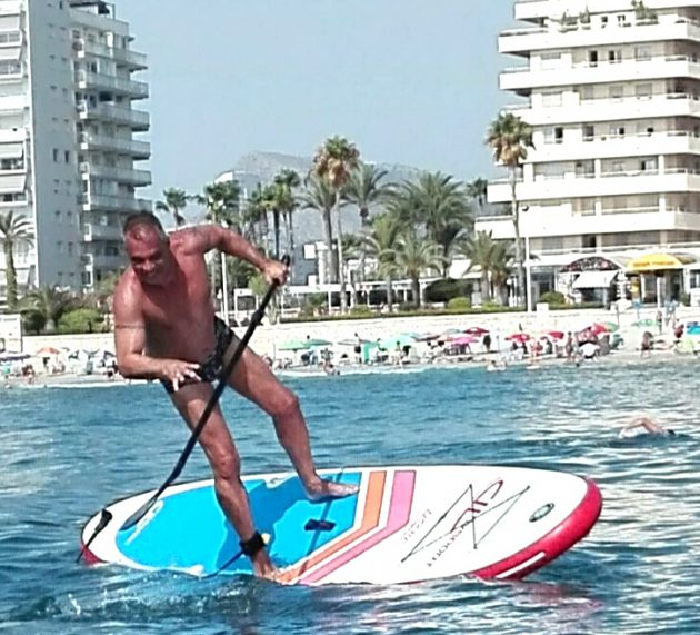 Stand Up Paddle Surf no es aburrido!