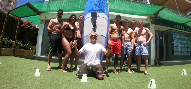 Stand Up Paddle Surf en Calpe