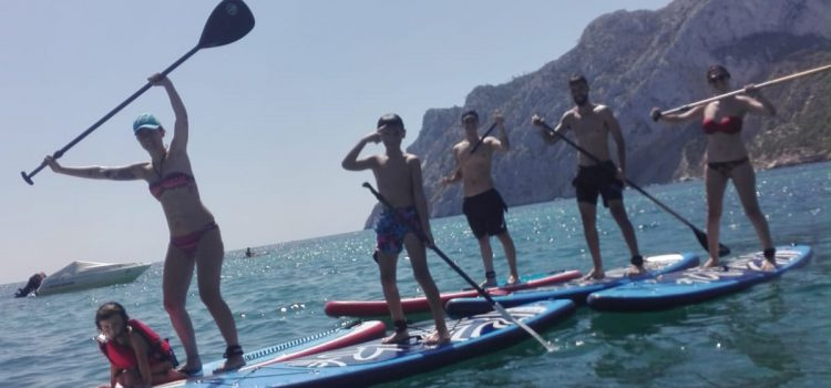 Special offerl SUP / Stand Up Paddle Board for families on the Costa Blanca in Spain