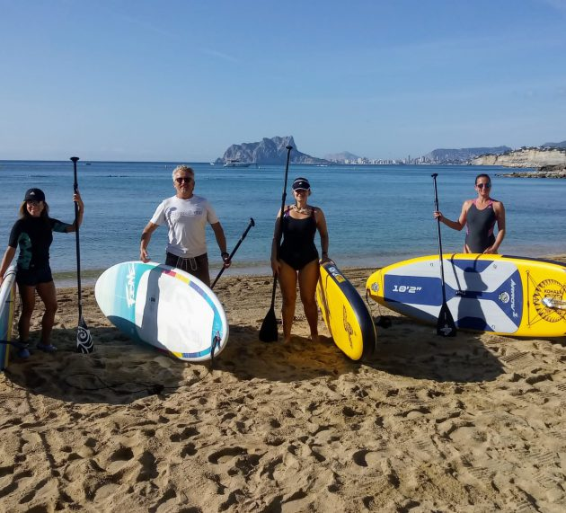 SUP/PADDLE BOARDING IN MORAIRA