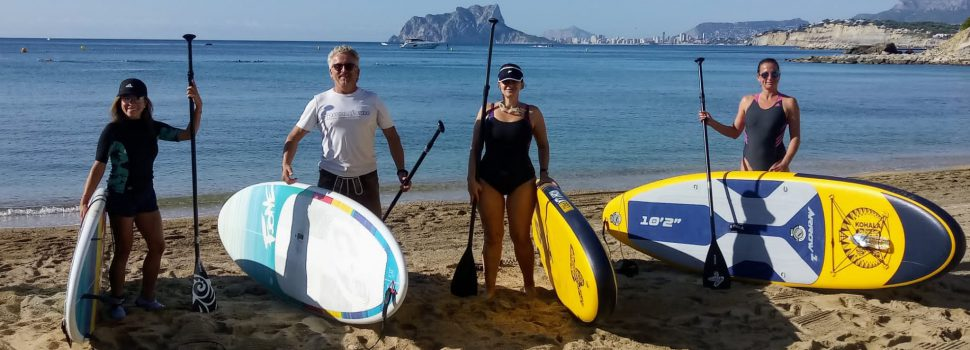 SUP/PADDLE SURF IN MORAIRA