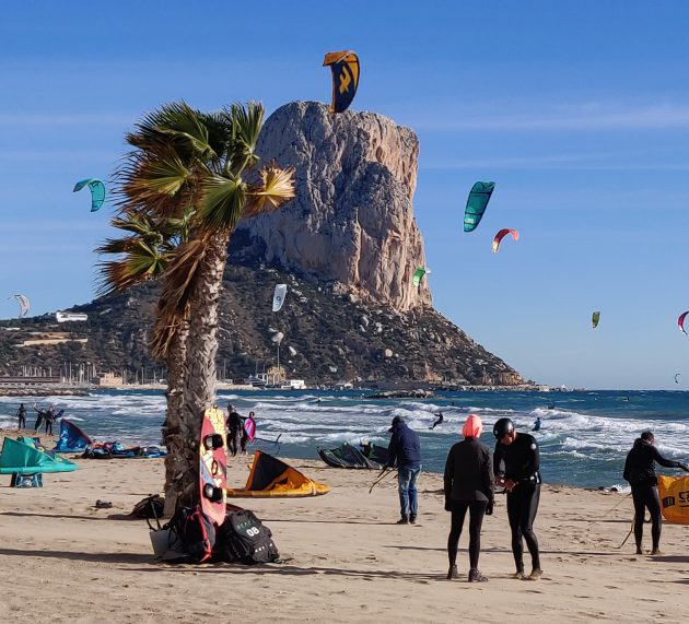 SPECTACULAR KITESURFING EVENT IN CALPE